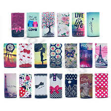 Hot Sales Synthetic Leather Universal Card Wallet Case Cover For Cellphones #A1