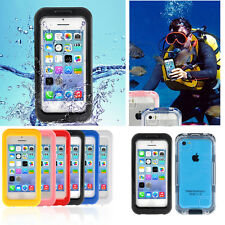 PC Waterproof Durable Shockproof Dirt Snow Proof Case Cover for Phone