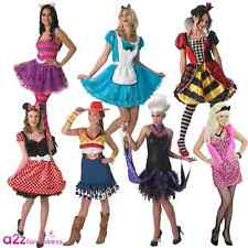 New Sassy Diva Cat Hen Disney Sexy Queen Wonderland Ladies Fancy Dress Costume