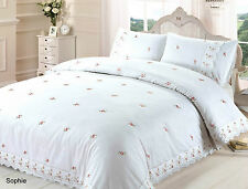 Sophie Luxury Embroidered Duvet Cover Set