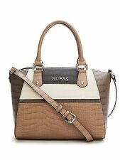 GUESS Women's Tambako Crocodile-Embossed Satchel