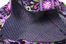 NEW WITH TAGS VERA BRADLEY PURPLE PUNCH  SMALL   DUFFEL DUFFLE