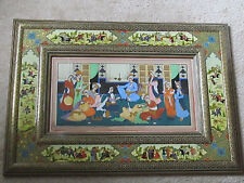 """Hand made frame and real painting, 20 years old , 26""""x 18"""""""