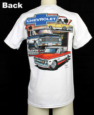 Original Chevrolet Chevy Bowtie Pick Up Trucks 1967-1972 Muscle US Car T- Shirt