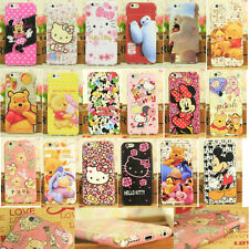 "Cartoon Hello kitty Phone Case Cover For iPhone 6 4.7"" 6+5.5 P Samsung Galaxy S5"