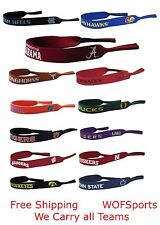 Official NCAA Licensed Sunglass Croakies NEW - Choose Your Team