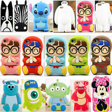 3D Cute Cartoon Arale Silicone Soft Back Cover Case For Various Mobile Phone