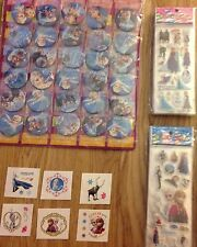 Frozen stickers, badges and tatooes. Cards making/paty bag fillers