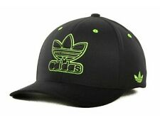 """Adidas """"Finisher Flex Cap"""" Hat $28  Black and Green"""