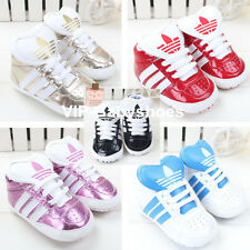 New Arrival Baby Infant Toddler Boy Girl Sneaker Soft Sole Shoe Size 0-18M AD02#