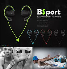 Bsport Bluetooth Wireless Sports Stereo Waterproof Headsets Headphone Earphone