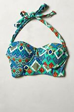 Anthropologie Mix & Match Long Line Halter Top and Twisted Hipsters Bottom Set