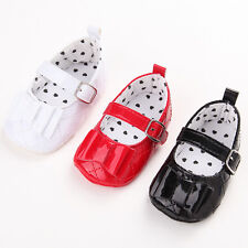 Fashion Baby Girl Princess Crib Shoes Infant Toddler Anti-Slip 0-18 Months #BS34