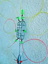 "BASIC CRAB SNARE 3""X1""X1"" WITH GLOW BEADS  ATTRACTS MORE CRABS"