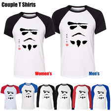 Stormtrooper Japanese Kanji Calligraphy Star Design Couple T-Shirt Boy's Girl's