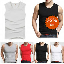 Great Men Premium Cotton A-Shirt Top Quality Muscle Ribbed Wife Beater/Tank Top