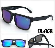 Fashion Men's or Women's Mirrored Sunglasses Block SPY+ New Black, Free Ship USA