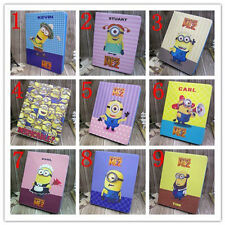 Despicable Minion PU Leather Flip Stand Cover Case for Apple iPad 2 3 4