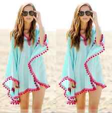 Boho Hippie Women Gypsy Kimono Long Tops Ladies Bohemian beach Cover up dress
