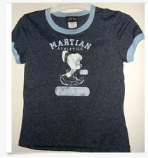 NWT jr L or XL MARVIN MARTIAN TRACK & FIELD T SHIRT  distressed antique look