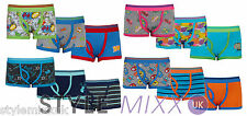 Boys 3 Pack Monster Comic Boxers Underwear Pants Cotton Shorts Trunks 2-13 Yrs