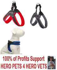 Top Paw Easy Fit Dog Harness Gray Red Padded XS S M Bike Ride Jogging Easy