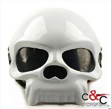 Skull Motorcycle Helmet Half Face Skull Motorbike Helmets DOT 4 Color To Choose
