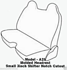 A25 PREMIUM Double Stitched Front Solid Bench 8mm Thick Exact Fit Seat Covers