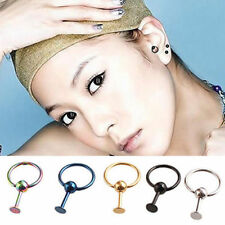 2PC Surgical Steel Stud Earrings Tragus Cartilage Nose Eyebrow Lip Nail E028