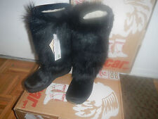 NEW OSCAR SPORT NORMA APRES SKI GOAT FUR WOMEN BOOTS ITALY Size US 6
