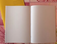 A4 Plain White 48 Blank Pages Paper Art Topic Sketch Ideas Book Jotter School