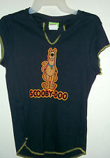 NEW jr size XL SCOOBY DOO T SHIRT  NAVY BLUE
