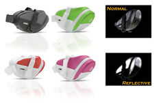Crops Reflective Cycling Seatpack / Saddle Bag / Cycle Saddle Wedge Pack