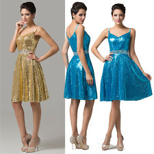 New Sequins Short/Mini Homecoming/Bridesmaid/Evening/Party/Gown/Ball/Prom Dress