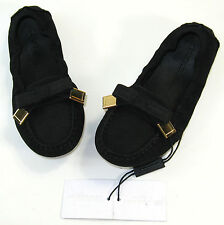 Burberry Mini Sumpter Bow Flat (Toddler) Shoes. Size(6.5, 8.5)
