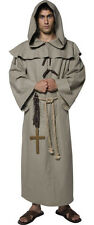 FRIAR TUCK Medieval Monk Robin Hood Mens Deluxe Fancy Dress Costume Outfit 36275