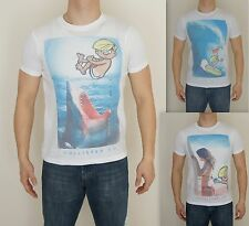 NWT HOLLISTER HCO Men Muscle Slim Fit VICTORIA BEACH T Shirt By Abercrombie