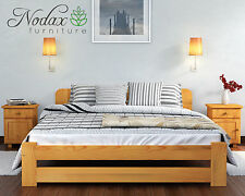 Wooden Furniture Solid Pine Bed Frame Small Double 4ft Size - ONE