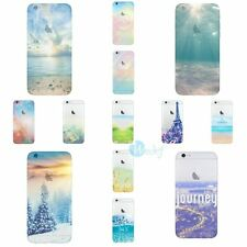 ULTRA THIN NATURAL Landscape Rubber Soft Back Cover Case For iPhone 6 / 6s PLUS