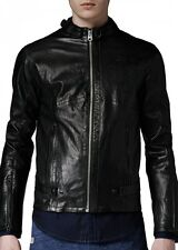 "G-Star Herren Lederjacke ""CHOPPER"" black TOP"