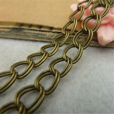 5m Antique Vintage Tone Double Style Chain Charm 4.5mm/10mm Jewelry Finding P275