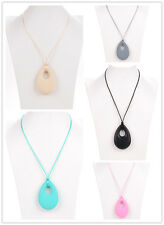 Rain Tears  Necklace Nursing Beads Silicone Pendant Teething Baby Chew Jewellery