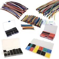 Pro Assortment 2:1 Heat Shrink Tubing Tube Sleeving Car Electrical Wrap Wire Kit