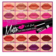 L.A. GIRL Matte Pigment Gloss (CHOOSE COLOR) (GLOBAL FREE SHIPPING)