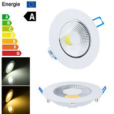 Round 5W 10W 15W LED COB Ceiling Down Light Recessed Panel Lamp Bulb No Dimmable
