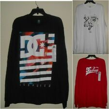 New DC Shoes Co Mens Long Sleeve T-Shirt Sizes:L/ XL