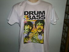 DRUM AND BASS TSHIRT  beatles john lennon paul mccartney ringo starr   ALL SIZES