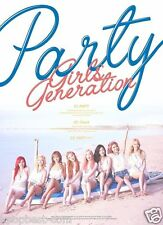 SNSD Girls' Generation - PARTY (Single Album) CD+Poster+Gift Photo K-POP KPOP