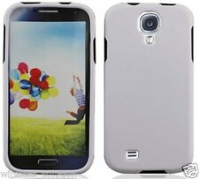 WHITE Snap-On Case Hard Cover for Samsung Galaxy S4 IV