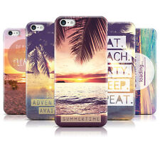 DYEFOR SUMMER PARADISE BEACHES HARD BACK PHONE CASE COVER FOR APPLE iPHONE 5C